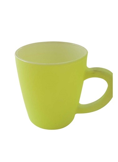 Yellow -White Neon Mug-Rakle